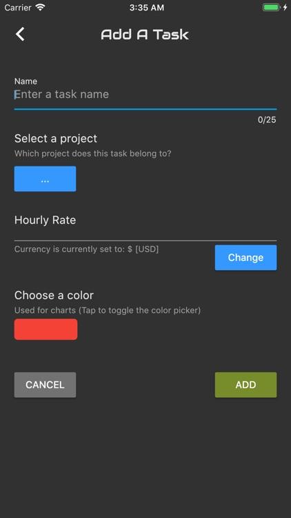 Agile Log - Time Tracker screenshot-9