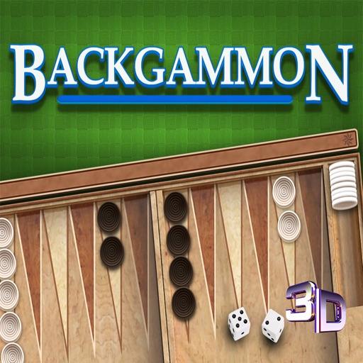 Backgammon 3D ▽∙▲