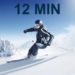 12 Min Ski Workout Slopes Fit