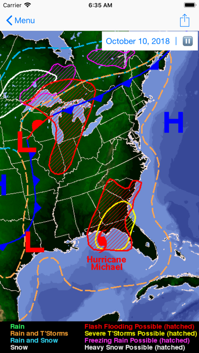 Screenshot #3 pour global storms pro