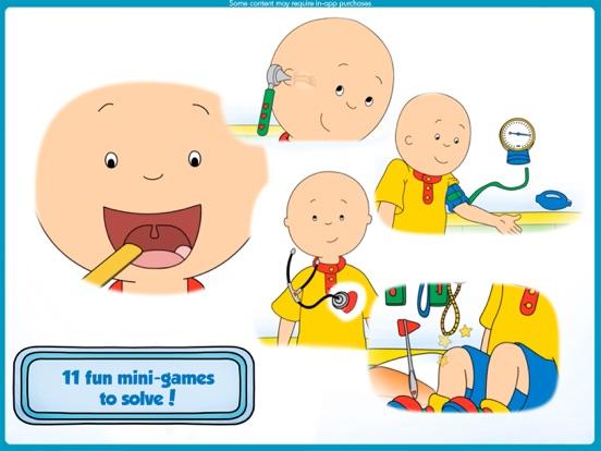 Caillou 健康診断お医者さんゲームのおすすめ画像2