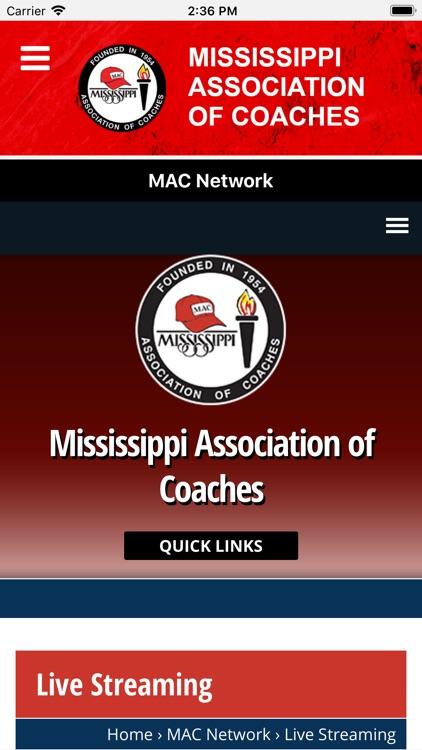 Mississippi Assoc. of Coaches screenshot-6