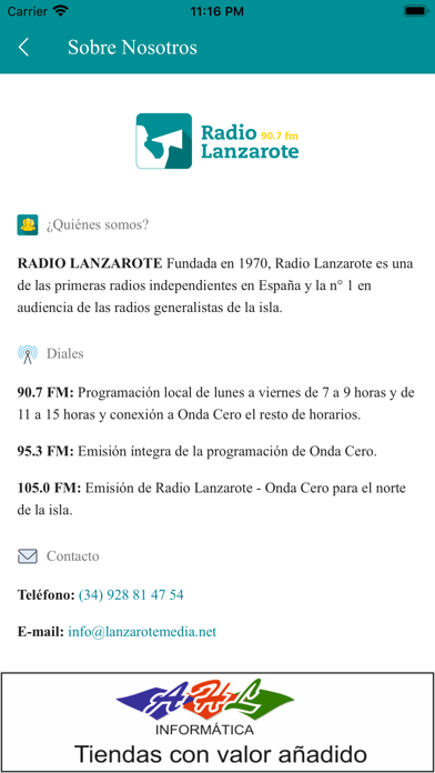 Download Radio Lanzarote for Android