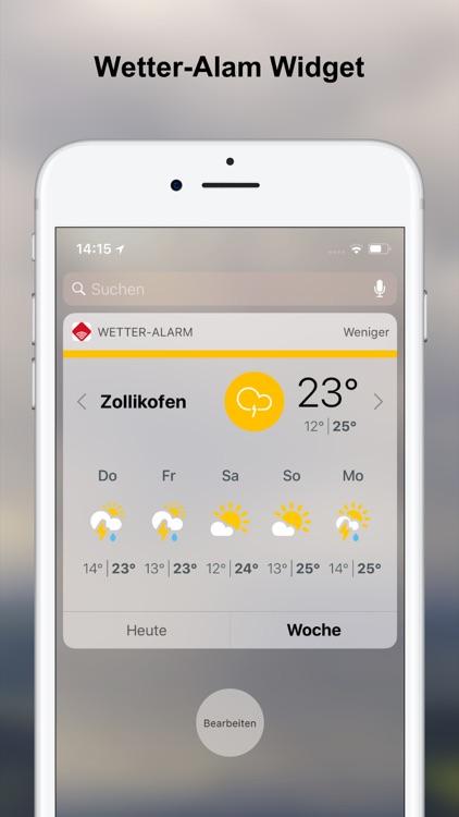 Wetter-Alarm: für die Schweiz screenshot-8