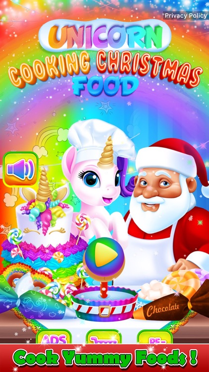 Unicorn Cooking Christmas Food screenshot-0