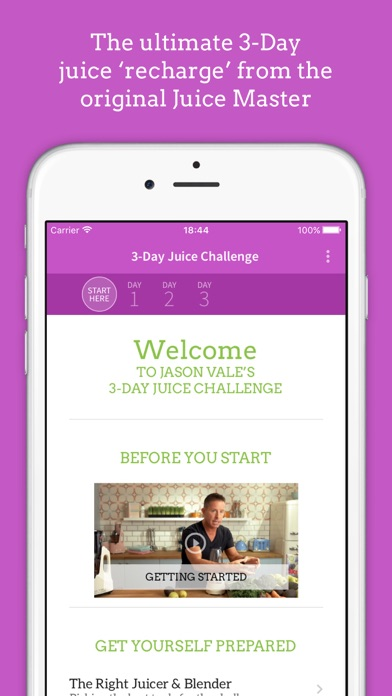 download Jason's 3-Day Juice Challenge indir ücretsiz - windows 8 , 7 veya 10 and Mac Download now