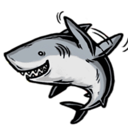Funny Shark SharkMoji Stickers icon