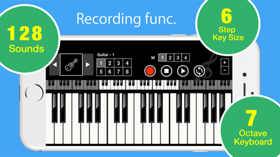 Tiny Piano Synthesizer X app image