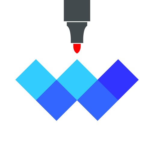 Whiteboard Brush iOS App