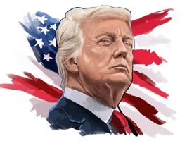 Donald Trump Stickers Pack