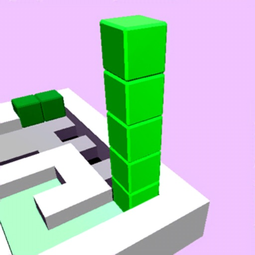 Cube stack puzzle