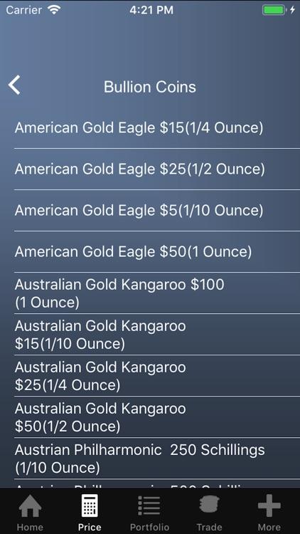 The Gold Price Calculator screenshot-3