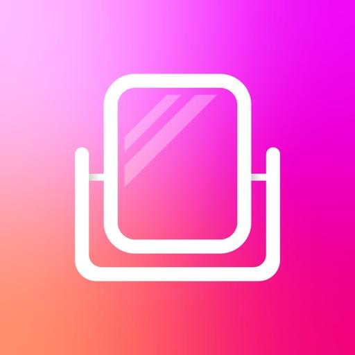 鏡&ビフォーアフターアプリ-BA mirror