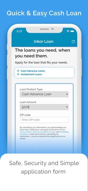 Inkor Loan - borrow money app on the App Store