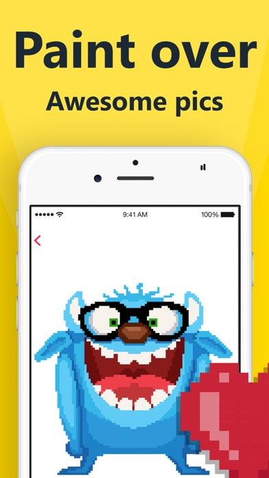 Pixel 2D – color by number app image