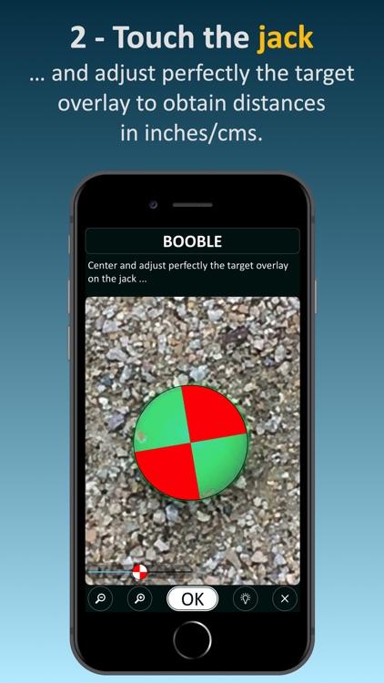 Booble (for petanque game)