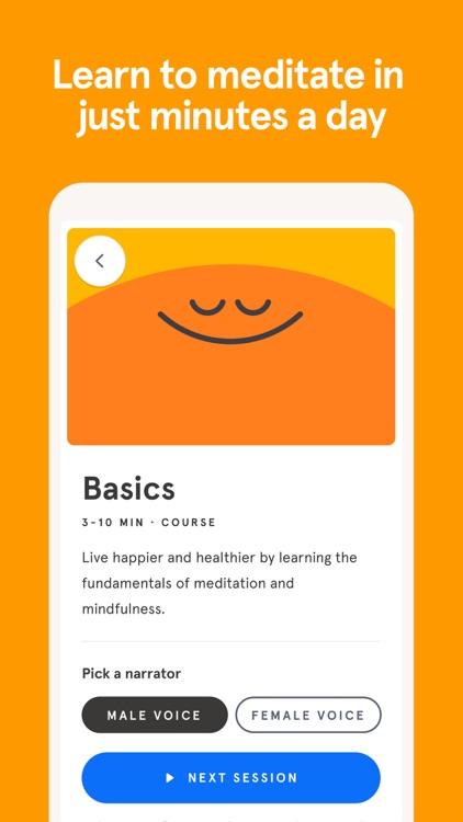Headspace: Meditation & Sleep screenshot-3