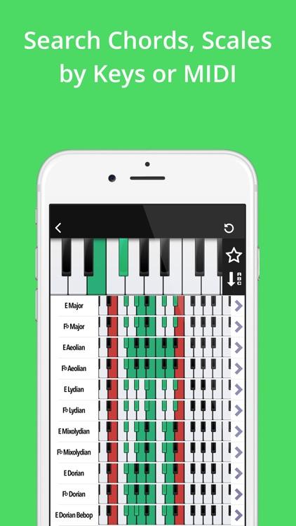 Piano Companion: Chords,Scales