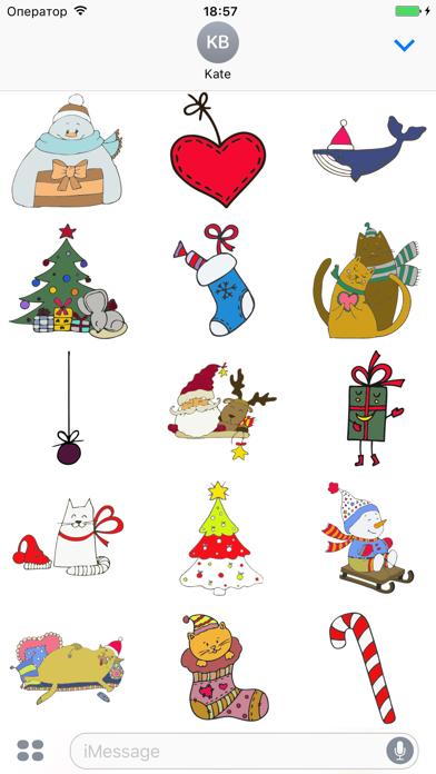 New Year - Merry Christmas screenshot two