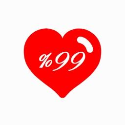 Love Test   calculate love