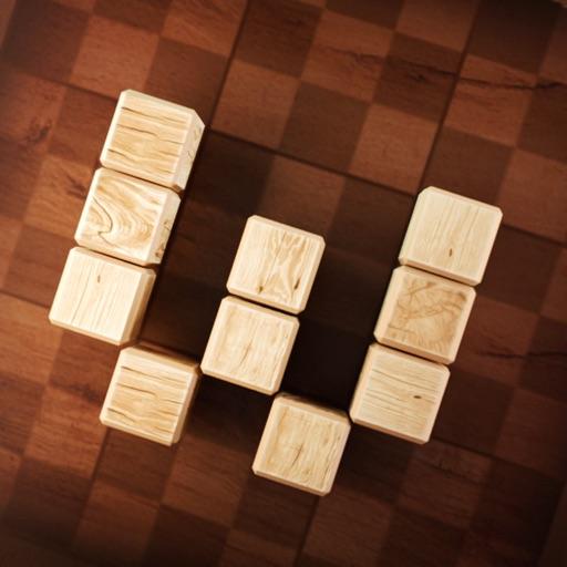 Wood SudoBlocks 3D
