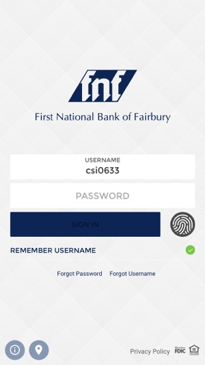 First National Bank Fairbury on the App Store