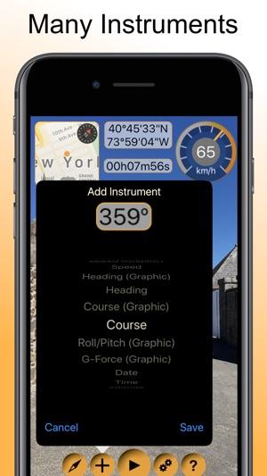Timestamp Camcorder Pro Maps