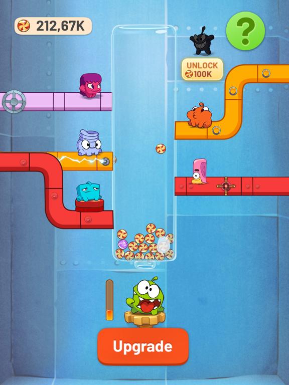 Om Nom Idle Candy Factory screenshot 4