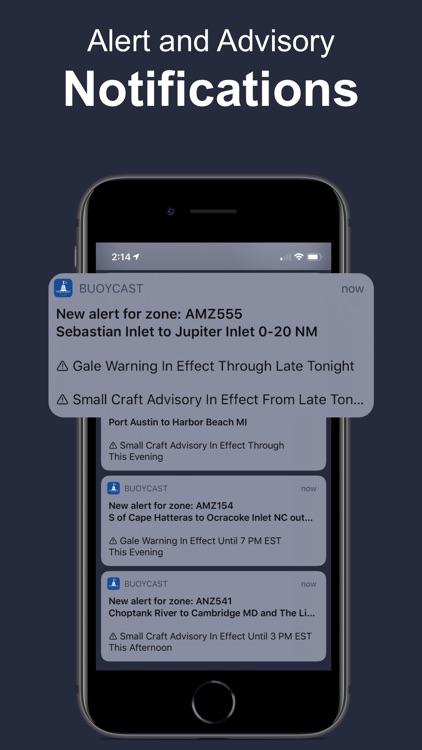 Buoycast: NOAA Marine Forecast screenshot-4