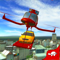 App Icon for Flying Drone Car Delivery Sim App in Egypt IOS App Store