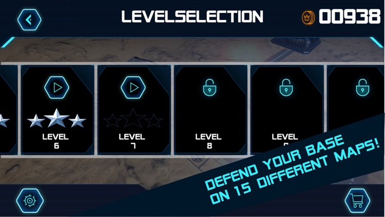 Base Defender Tower Defense screenshot-4