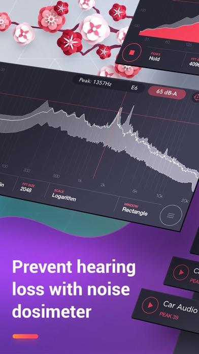 Decibel : dB, dBA Sound Meter