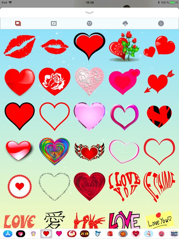 Telecharger Je T Aime Stickers Et Emoji Pour Iphone Ipad Sur L App Store Autocollants