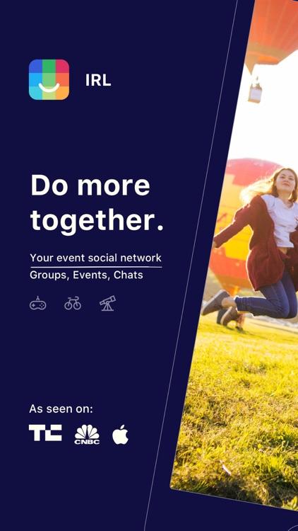 IRL - Event Social Network screenshot-0