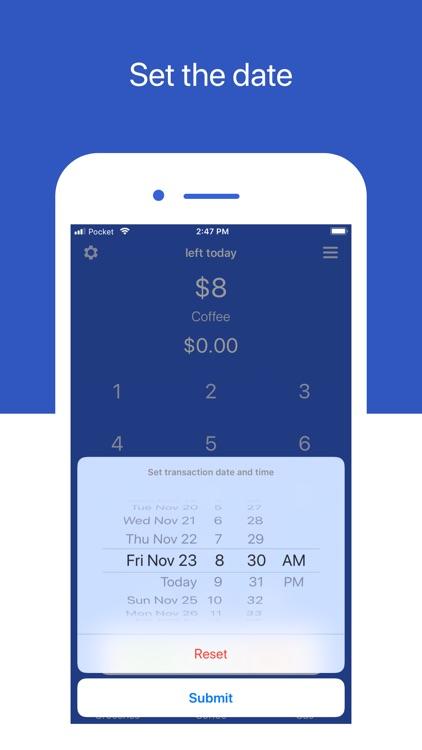 Pocket - Simple Budget Tracker screenshot-5