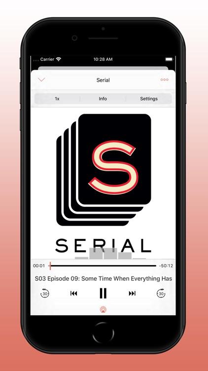 RSSRadio Podcast Player screenshot-4