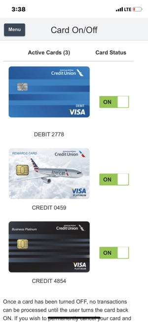American Airlines Credit Union On The App Store