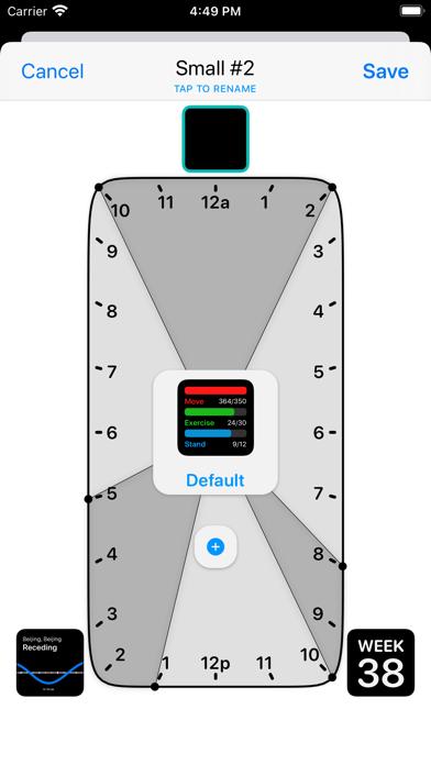 Widgetsmith iphone captures décran
