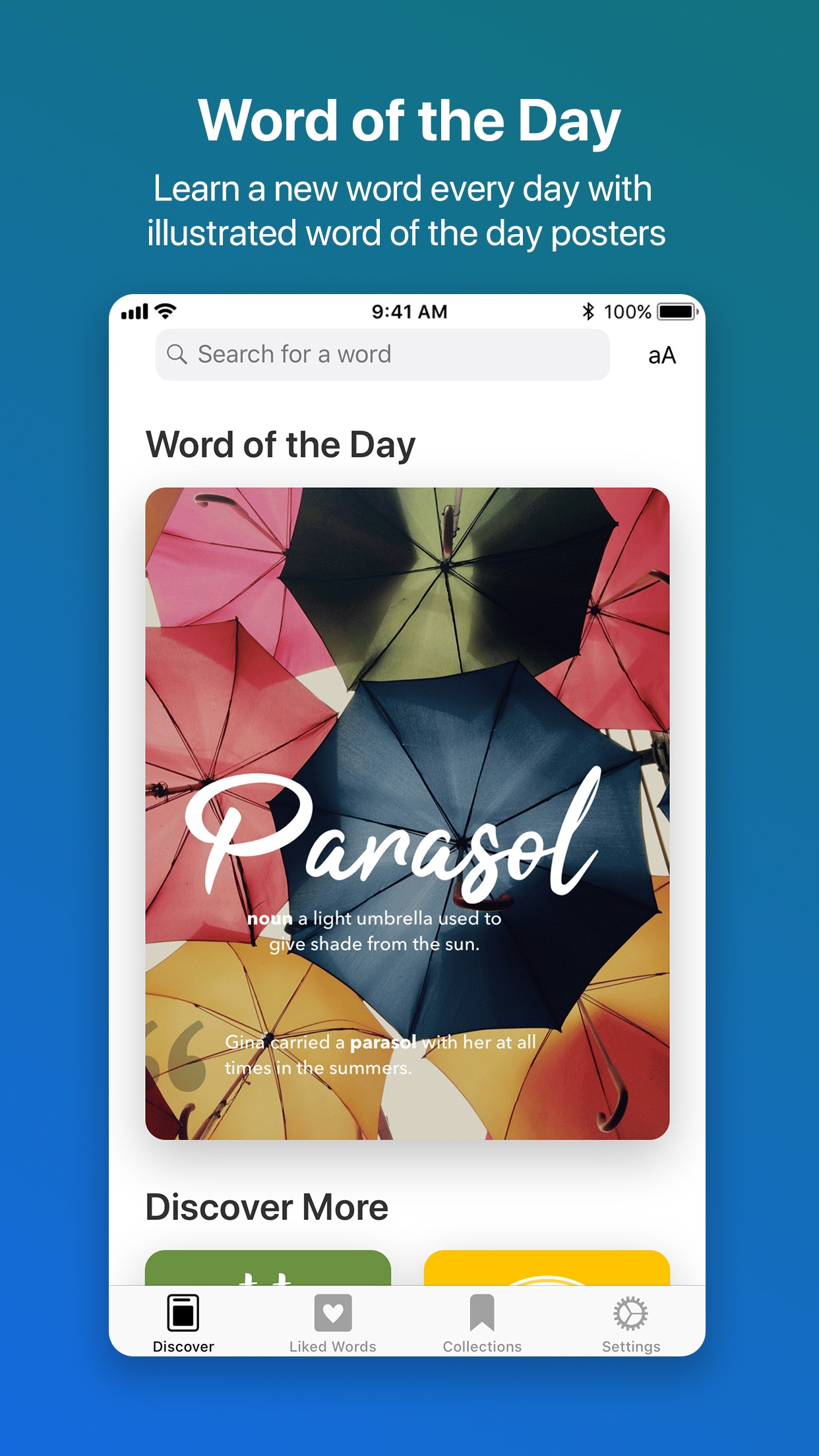 LookUp: English dictionary Screenshot