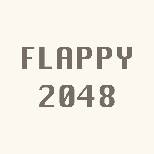 Flappy 2048 : Fly to 2048 and dont touch any white tile.