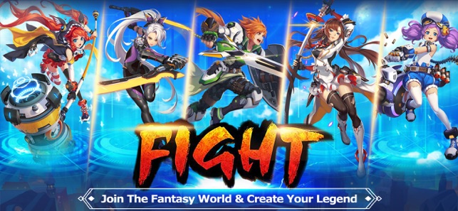 Blade & Wings: 3D Anime MMORPG on the App Store