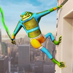 Amazing Rope Hero Frog
