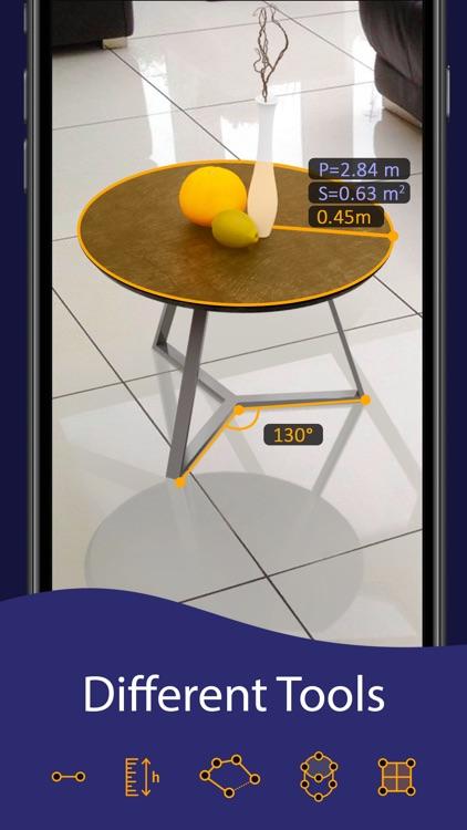 AR Ruler App – Tape Measure