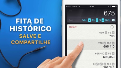 Screenshot for A Calculadora HD in Portugal App Store