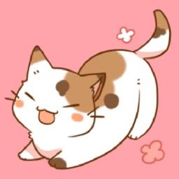 可爱的猫咪贴纸
