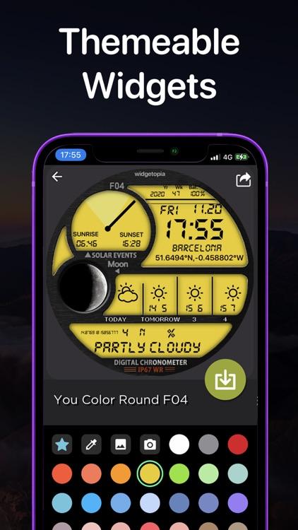 widgetopia Widgets + Weather screenshot-5
