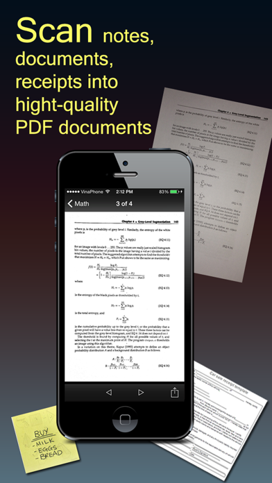 Screenshot #1 pour Fast Scanner : PDF Doc Scan