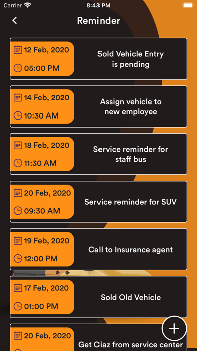Corporate Vehicle Manager screenshot #8