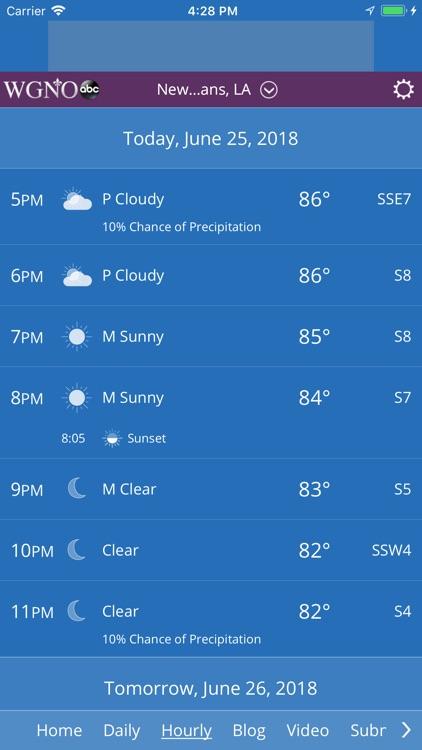 WGNO ABC26 Weather