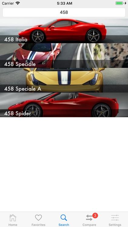 Car Specs Pro screenshot-5